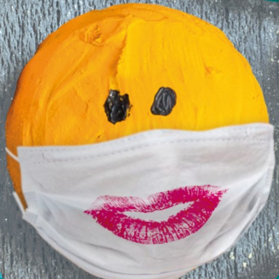 Smiley masque